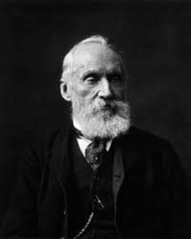 William Thompson estimates the Earth's age.