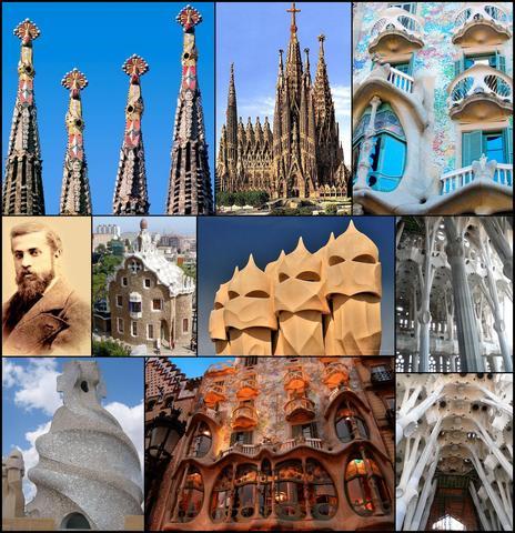 Nace en Reus (Tarragona) Antonio Gaudí