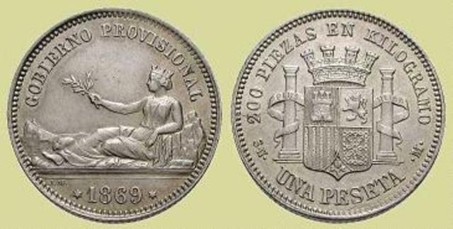 Nace la peseta como unidad monetaria