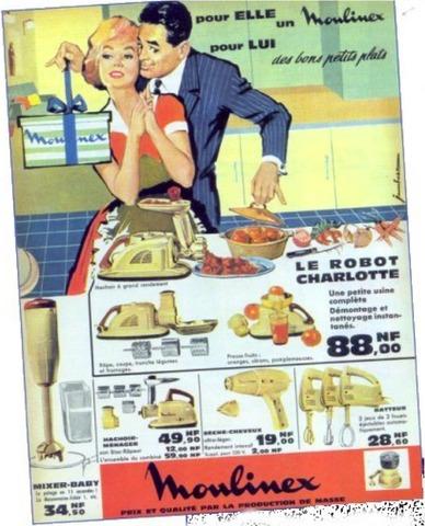 Publicité Moulinex, 1979