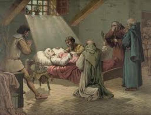 Columbuses Death