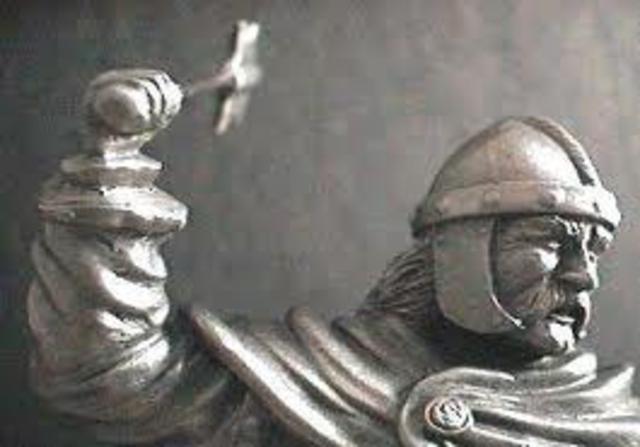 "Beginning of Charles ""The Hammer"" Martel's power"