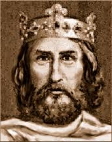 Charlemagne's power begins