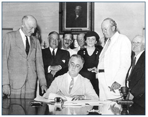 US adopts Social Security