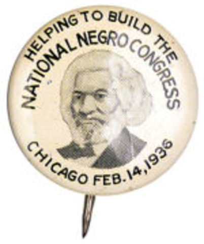 Creation of the National Negro Congress
