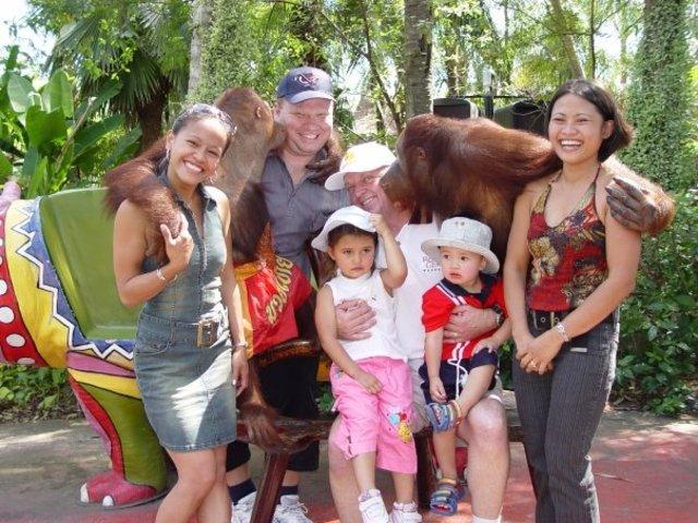 We went to Thailand
