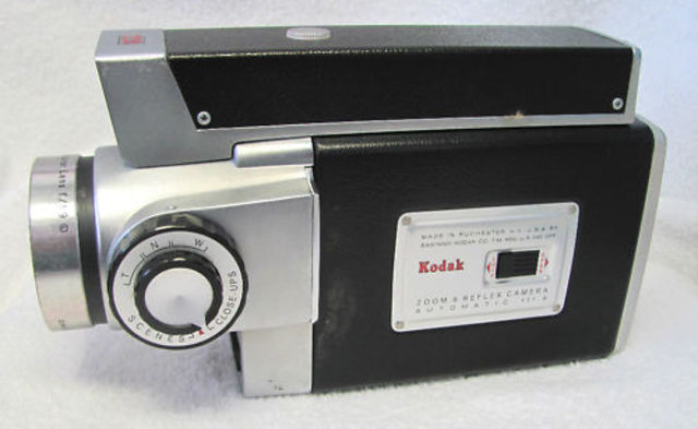 Zoom movie camera