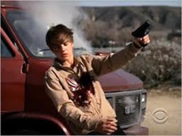 Justin on CSI