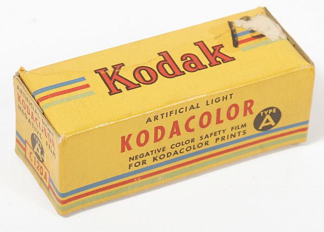 Kodacolor film debuts