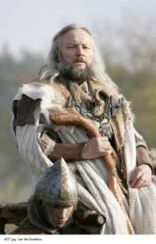 "Death of Ivar ""The Boneless"""