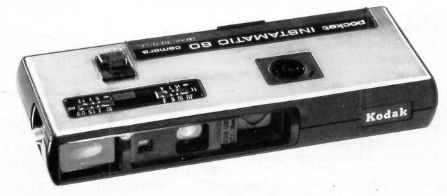 Pocket-sized Instamatic camera