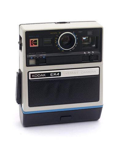 Instant cameras hit market