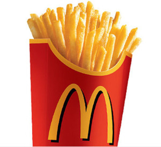 French Fries and milks shacks are on the menu