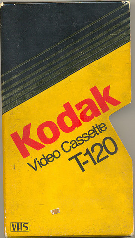 Kodak begins selling floppy discs and VCR tapes