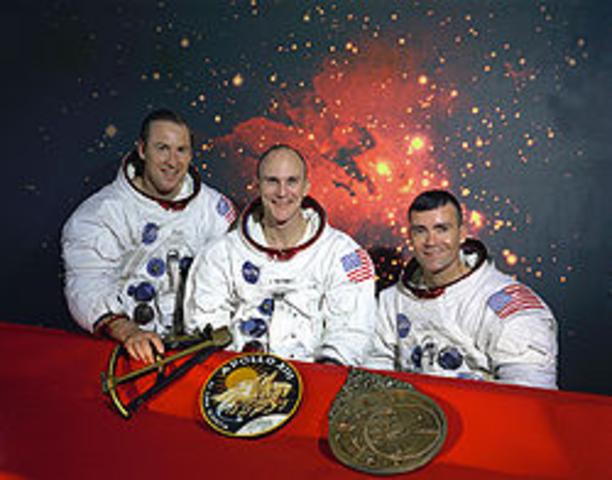 Launch of Apollo 13