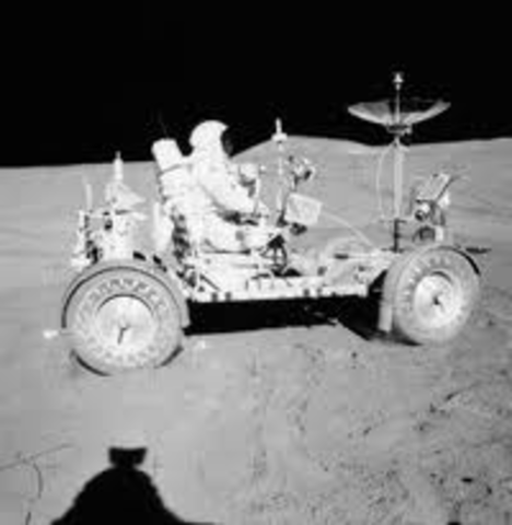 First Rover on the Moon