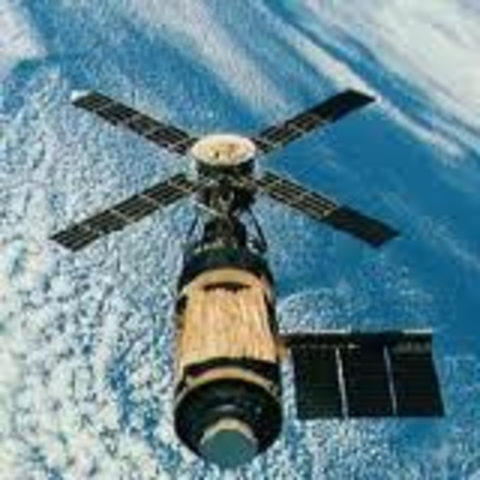 First American Space Station Launched