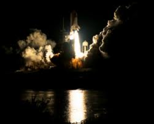 Mir Space Station Launched