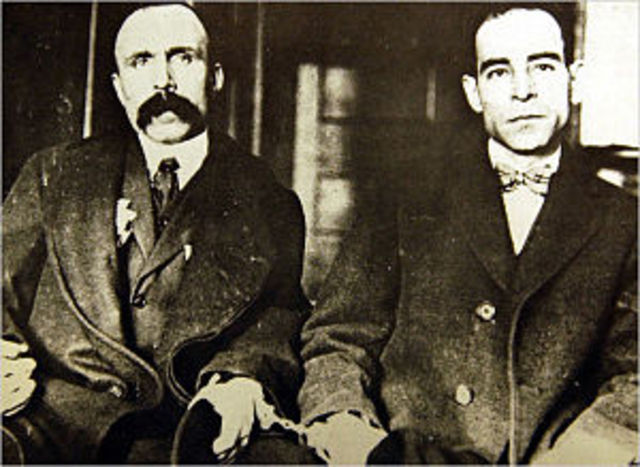 Trial of Socco and Vanzetti