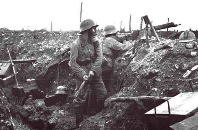 World War I - Major Canadian Battles: Ypres