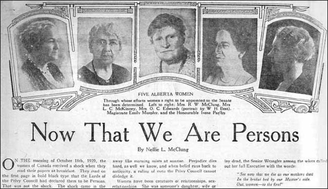 The Roaring 20's - Persons Case: Part 1