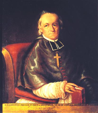 The Bishop of Montréal speaks against the patriotes.