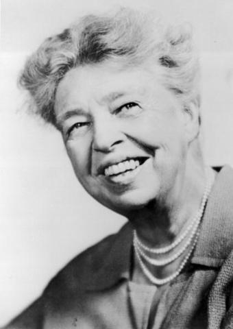 Eleanor Roosevelt Sticks Up for Minorites