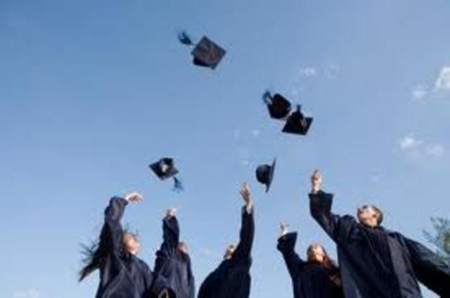 J'irai une remise des diplomes.