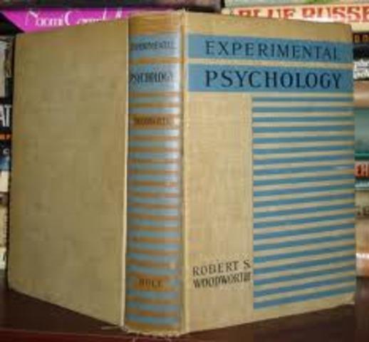 Robert S. Woodworth publishes 'Experimental Psychology'