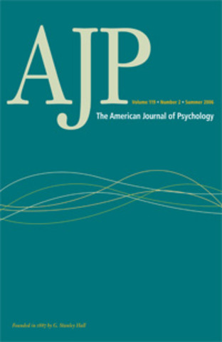 G. Stanley Hall and the American Journal of Psychology