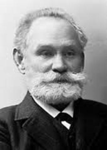 Pavlov wins the nobel prize