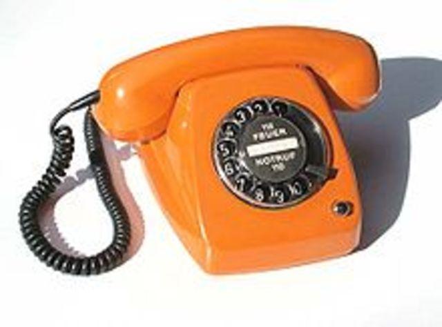 Telegraph-Rotary Dial