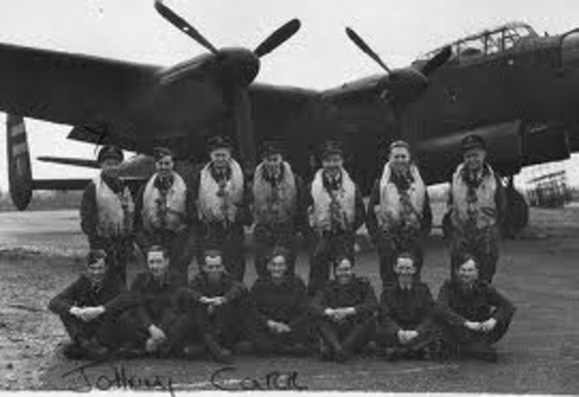 RCAF: Night Bombings on Germany