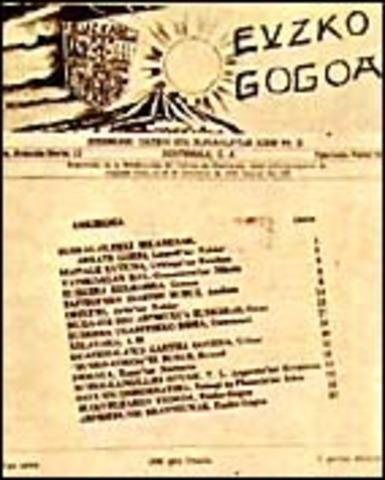 """Jokin Zaitegi: """"Euzko Gogoa"""""""