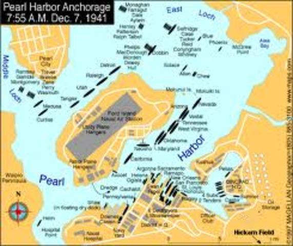 Hawaii grants United States use of Pearl Harbor