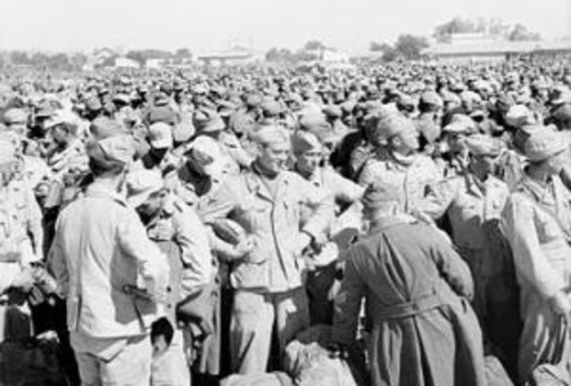 Surrender of Axis forces in North Africa
