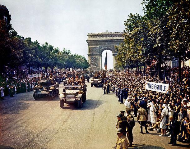 Allies liberate Paris