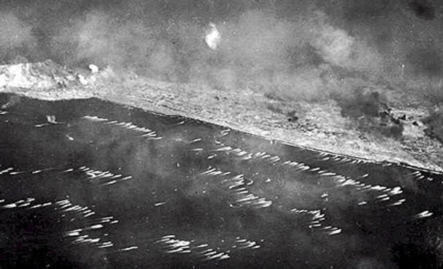 US landings on Iwo Jima