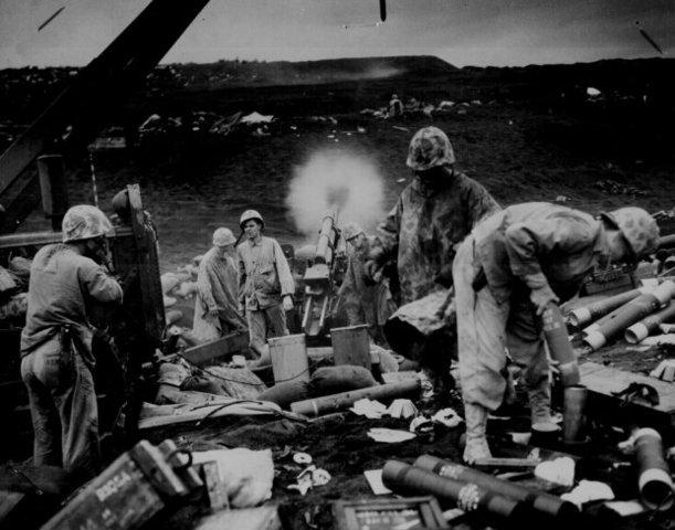 US win battle of Ivo Jima