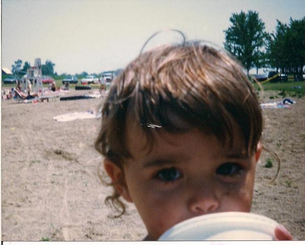 Hace quince años que fuí a la playa.