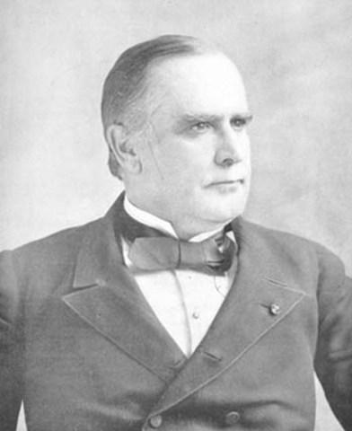 William Mckenley is elected President.