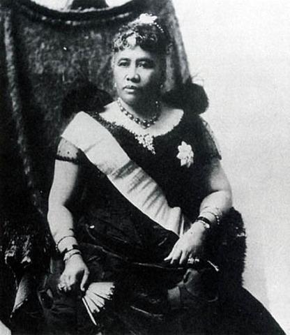 The Overthrow of Queen Liliuokalani