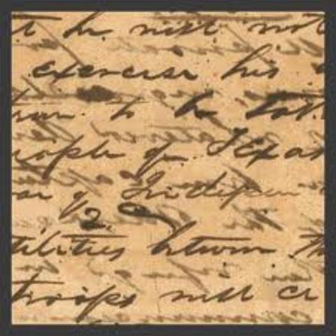 Treaty of Velasco grants Texas Independence