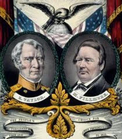 Zachary Taylor elected president