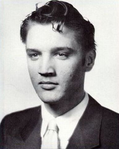 Elvis became the first Presley to graduate from high school. He graduated in Humes High School