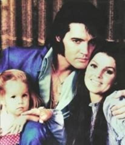 Lisa Marie Presley is born