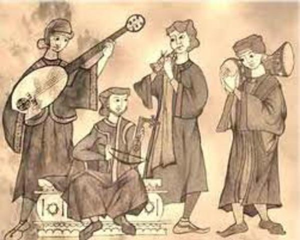 començament de la música cristiana