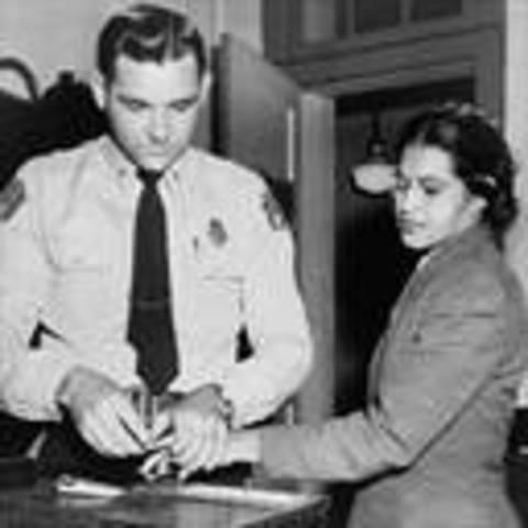 Rosa Parks got arrested