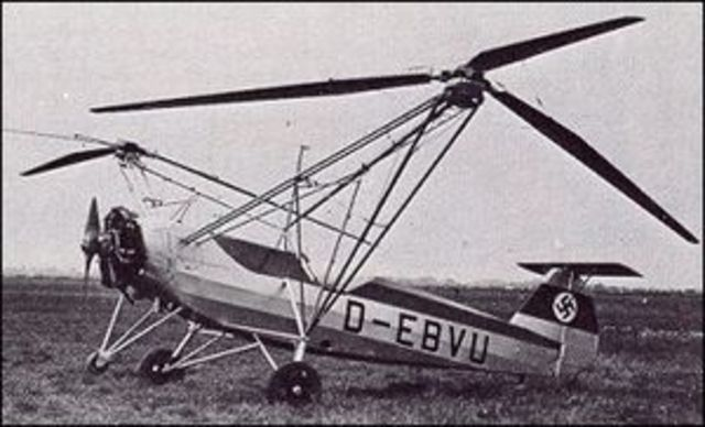 The first practical and functional helicopter was invented