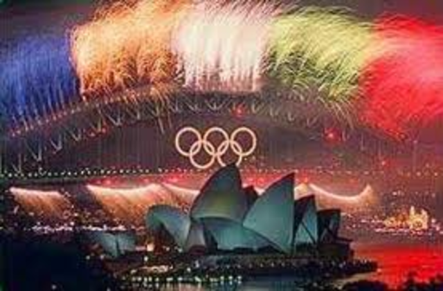 Hosted Olympic Games, Sydney.